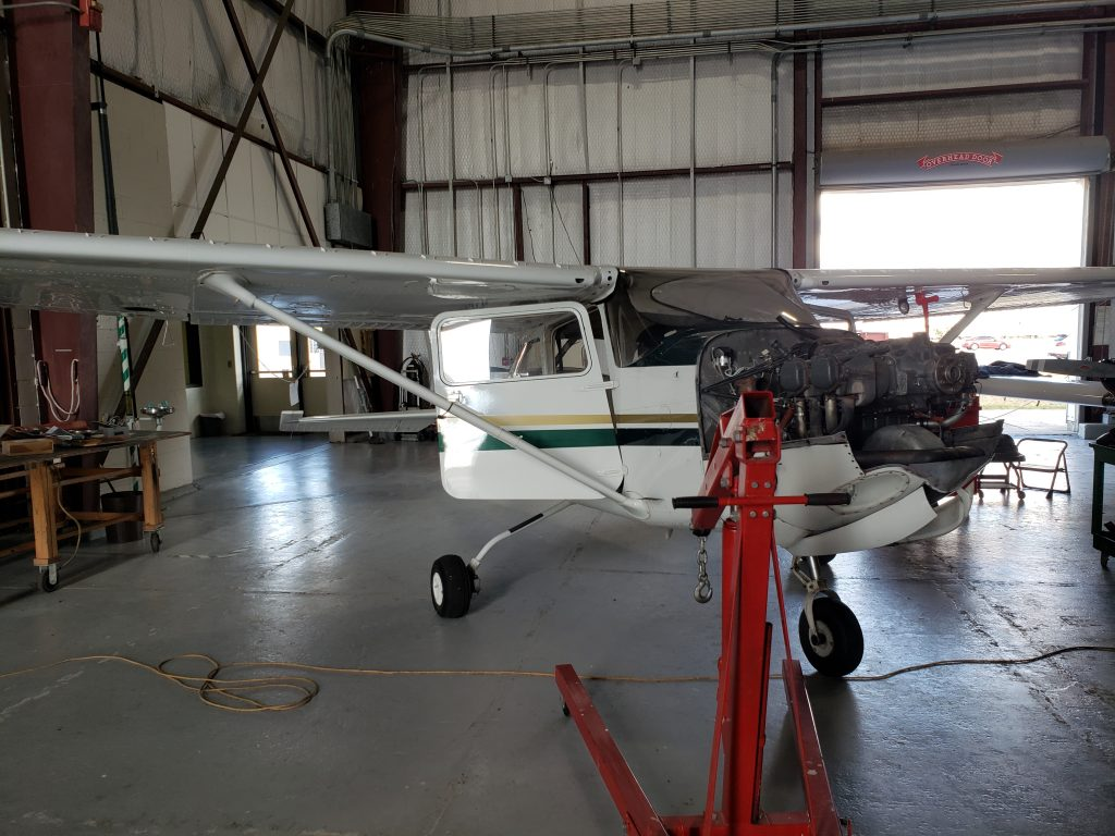 Cessna 172 RG getting a new engine and glass instrumentation